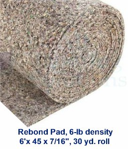 roll_of_rebond_pad_1.jpg  sc 1 st  Howtobuycarpet.com & Selecting the Right Carpet Pad Padding Cushion